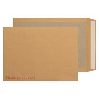 Board Back Pocket Peel and Seal Manilla C3 450x324 120gsm Pk10 Envelopes
