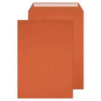 Pocket Peel and Seal Marmalade Orange C4 324x229 120gsm Envelopes
