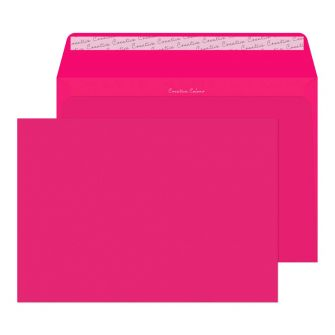 Wallet Peel and Seal Shocking Pink C4 229x324 120gsm