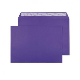 Wallet Peel and Seal Blackcurrant C4 229x324 120gsm