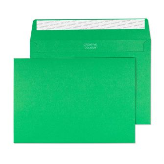 Wallet Peel and Seal Avocado Green C5 162x229 120gsm Envelopes