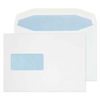 Mailer Gummed Window White C5 162x229 115gsm Envelopes