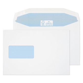 Mailer Gummed Window White C5+ 162x238 115gsm Envelopes