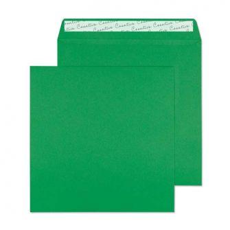 Square Wallet Peel and Seal Avocado Green 220x220 120gsm Envelopes