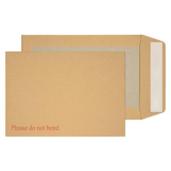Board Back Pocket Peel and Seal Manilla C5 229x162 120gsm
