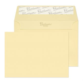 Wallet Peel and Seal Vellum Wove C6 114x162 120GM PK50 Envelopes