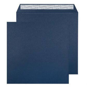 Square Wallet Peel and Seal Oxford Blue 220x220 120gsm Envelopes