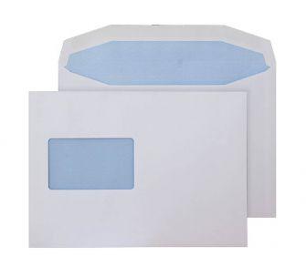 Mailer Gummed CBC Window White C5+ 162x235 90gsm Envelopes