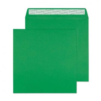 Square Wallet Peel and Seal Avocado Green 160x160 120gsm Envelopes