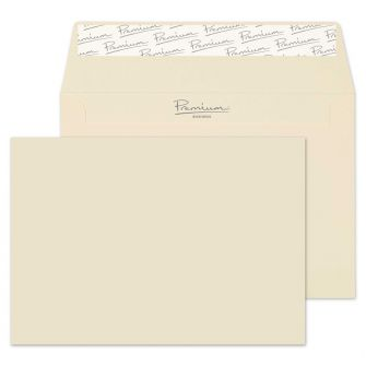 Wallet Peel and Seal Cream Wove C6 114x162 120gsm Envelopes