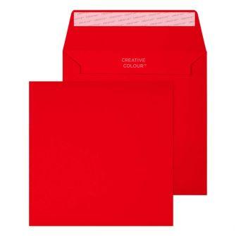 Wallet Peel and Seal Pillar Box Red C6 155x155 120gsm