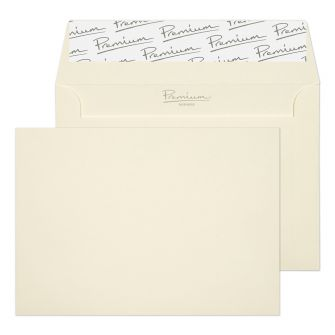 Wallet Peel and Seal Oyster Wove C6 114x162 120GM PK50 Envelopes