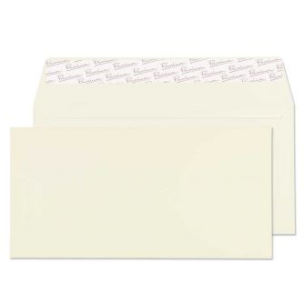 Wallet Peel and Seal Oyster Wove DL 110x220 120gsm Envelopes