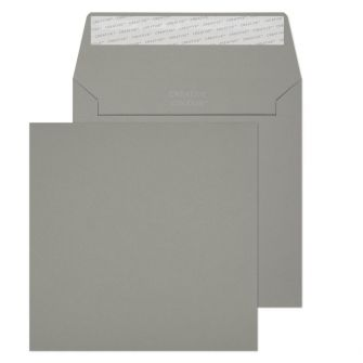 Wallet Peel And Seal Storm Grey 155x155 120gsm Envelopes