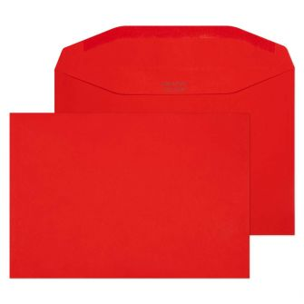 Mailer Gummed Pillar Box Red C5+ 162x235 120gsm Envelopes