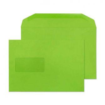 Mailer Gummed Window Lime Green C5+ 162x235 120gsm Envelopes