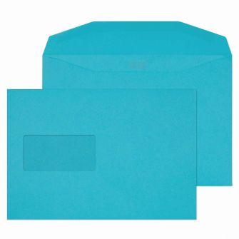 Mailer Gummed Window Cocktail Blue C5+ 162x235 120gsm Envelopes