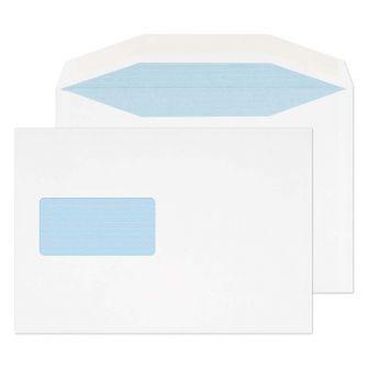 Mailer Gummed Window White C5 162x235 110gsm