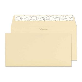 Wallet Peel and Seal Vellum Laid DL 110x220 120gsm Envelopes