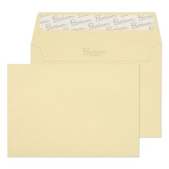 Wallet Peel and Seal Vellum Laid C6 114x162 120GM BX500 Envelopes