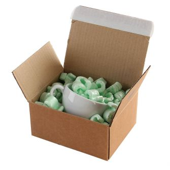 Postal Box Peel and Seal Kraft 210x180x130