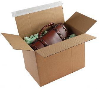 Postal Box Peel and Seal Kraft 400x260x250