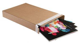 Carton Box Peel and Seal Kraft 165x46x240