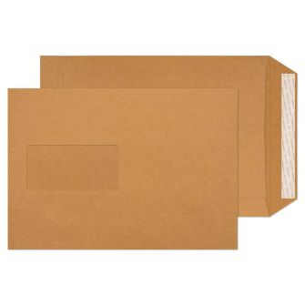 Pocket Peel and Seal Window Cream Manilla C5 229x162 130gsm Envelopes