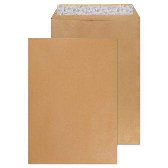Pocket Peel and Seal Cream Manilla C4 324x229 130gsm Envelopes