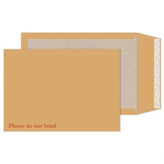 Board Back Pocket Peel and Seal Cream Manilla C4 324x229 130gsm Envelopes