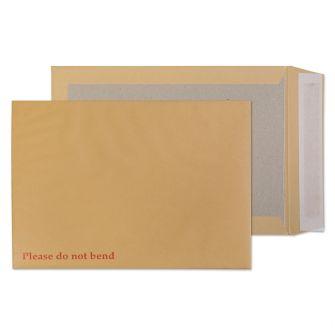 Board Back Pocket Peel and Seal Cream Manilla C4 324x229 130gsm Envelopes