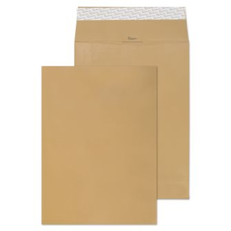 Gusset Pocket Peel and Seal Cream Manilla 406x305x30 140gsm Envelopes