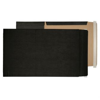 Book Wrap Peel and Seal Jet Black A3+ and SRA3 475x350x50