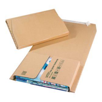 Green Bookwrap Manilla Peal & Seal 280x205x70mm