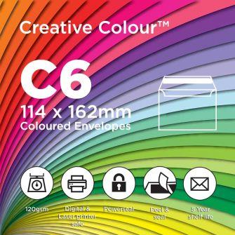 Creative Colour C6 Envelopes