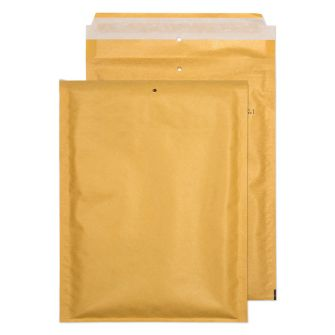 Padded Bubble Pocket Peel and Seal Gold 220x150