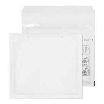 Padded Bubble Pocket Peel and Seal White 165x180