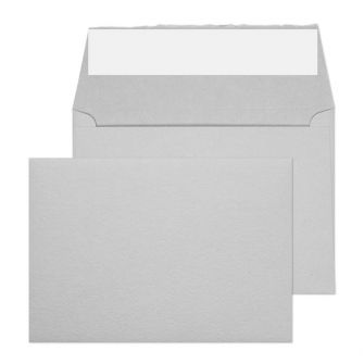 Wallet Peel and Seal Soft Grey C6 114x162 190gsm Envelopes