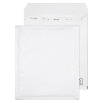 Padded Bubble Pocket Peel and Seal White 260x220