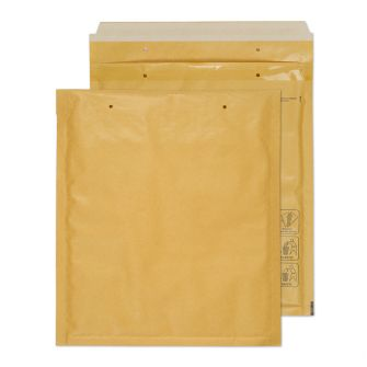 Padded Bubble Pocket Peel and Seal Gold 260x220