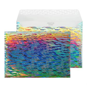 Wallet Peel and Seal Water Cascade C5 162x229 140gsm Envelopes