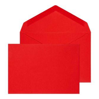 Banker Invitation Gummed Red C6 114x162 100gsm Envelopes