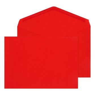 Banker Invitation Gummed Red C5 162x229 100gsm Envelopes