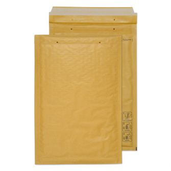 Padded Bubble Pocket Peel and Seal Gold C4 340x220