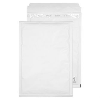 Padded Bubble Pocket Peel and Seal White 340x230