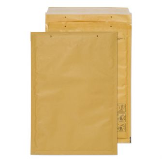 Padded Bubble Pocket Peel and Seal Gold 340x230
