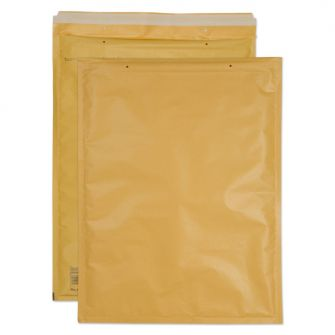 Padded Bubble Pocket Peel and Seal Gold 470x350