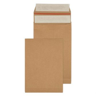 Kraft Mailing Expansion Pkt P/S 229x162x40 130gsm