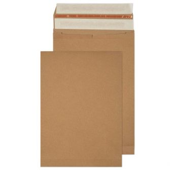 Kraft Mailing Expansion Pkt P/S 353x250x50 130gsm