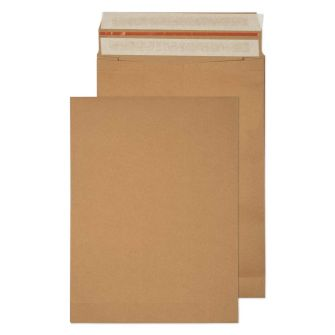 Kraft Mailing Expansion Pkt P/S 430x320x80 130gsm